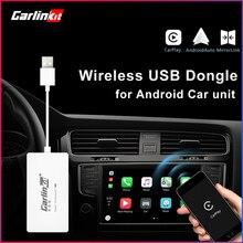 Carlinkit, беспроводной ключ Carplay для Apple Carplay Adaptador, USB, Android, Автомобильный ключ, Автомобильное Зеркало