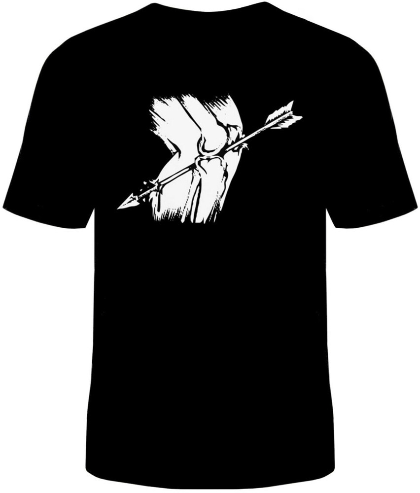 Arrow To The Knee T-Shirt Unisex Adult Funny Sizes Elder Scrolls Skyrim New Free Shipping Tee Tshirt