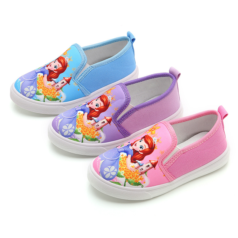 Kids Shoes For Girls Children Canvas Shoes Sneakers Spring Autumn 2019 Fashion Princess Children Casual Shoes