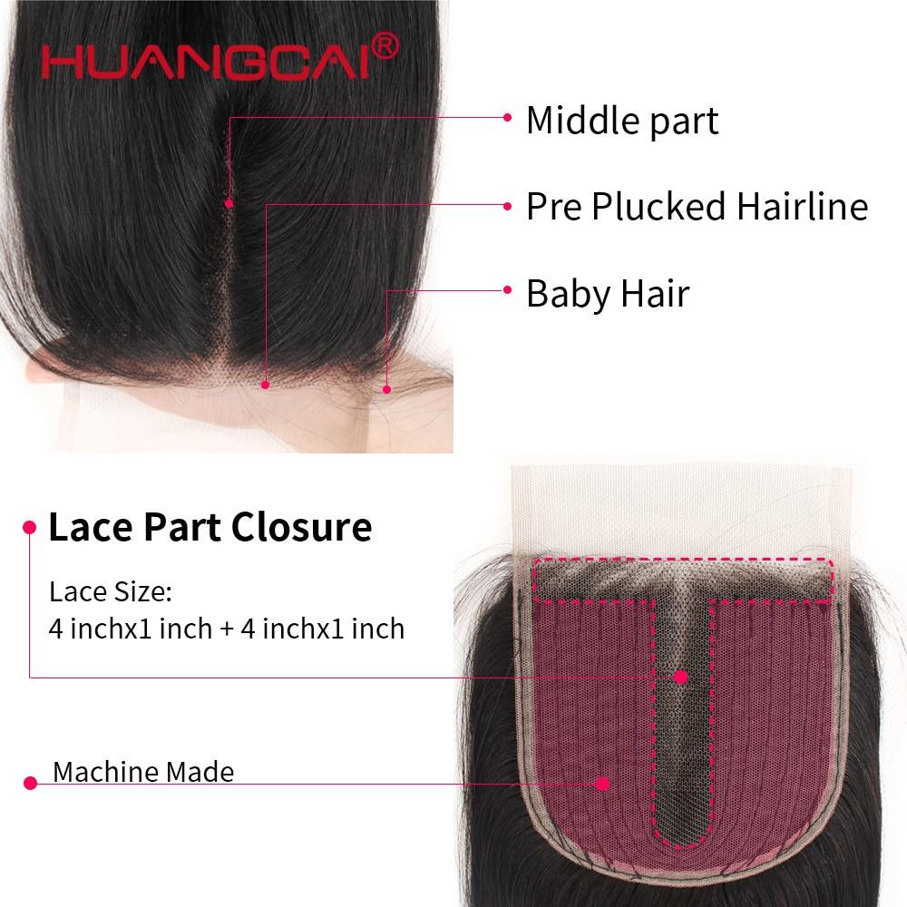 Brazilian Lace Closure Straight Human hair  5