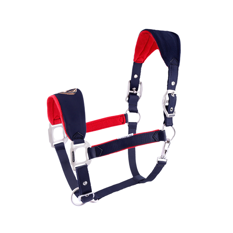 Horse Rope Halter Headcollar Equestrian Equipment Adjustable Thicken Horse Riding Bridle Head Collar Horseback Strap Accessories 1