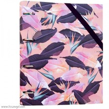 MILAN Ring Binder - Tropical - With 100 Sheets (A4)