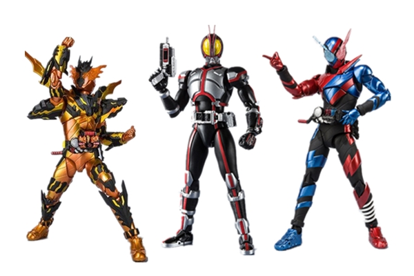 S.H.Figuarts Masked Kamen Rider Build CROSS-Z MAGMA Action Figure In Box 16cm