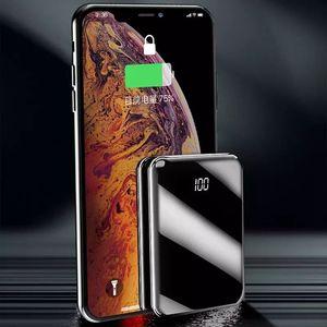 Image 3 - Ni電源銀行20000mah powerbank pover銀行充電器2 usbポート外部バッテリーpoverbankポータブルすべてのスマートフォン用8 xs