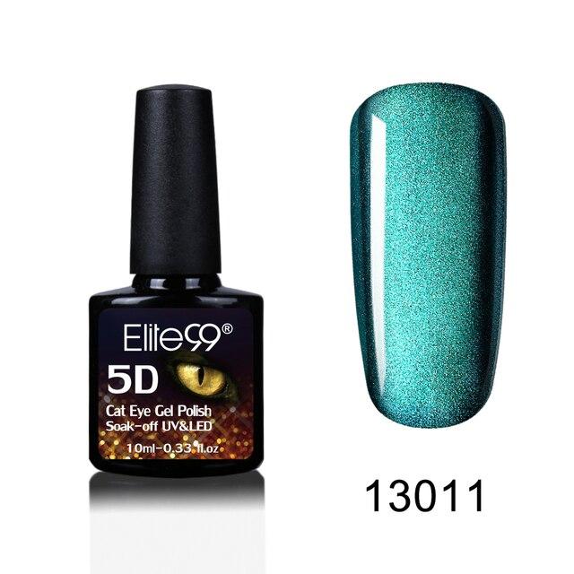 Elite99 Nail art 5D Katze Augen UV Nagel Gel Polnisch Chameleon Magentic Led Gel Nagellack Benötigen Magnet Stick Semi permanent Led Gel