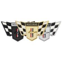 3D adesivi per auto emblema distintivo corsa tronco Decal per Ford Mustang Shelby GT 350 500 Cobra Fiesta Kuga Mondeo MK Focus 2 3 F 150