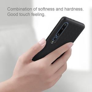 Image 3 - Nillkin Nylon PC Plastic Back Cover for Xiaomi Mi 10 Textured Case protector cover For Xiaomi Mi 10 pro