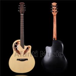 HOT! Afanti Music Super Roundback/ Carbon Fiber Back & Side Acoustic guitar (ANT-167S)