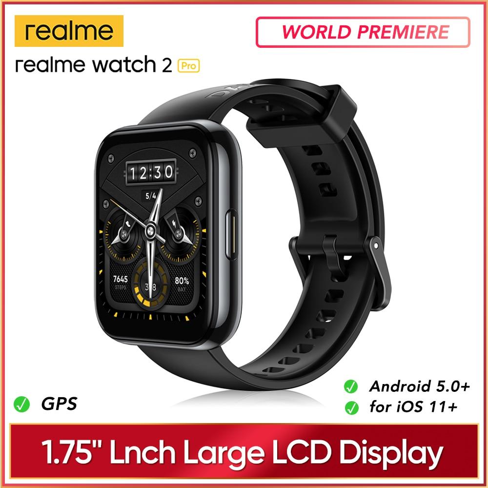 Мировая премьера realme Watch 2 pro Smart Watch 1,75