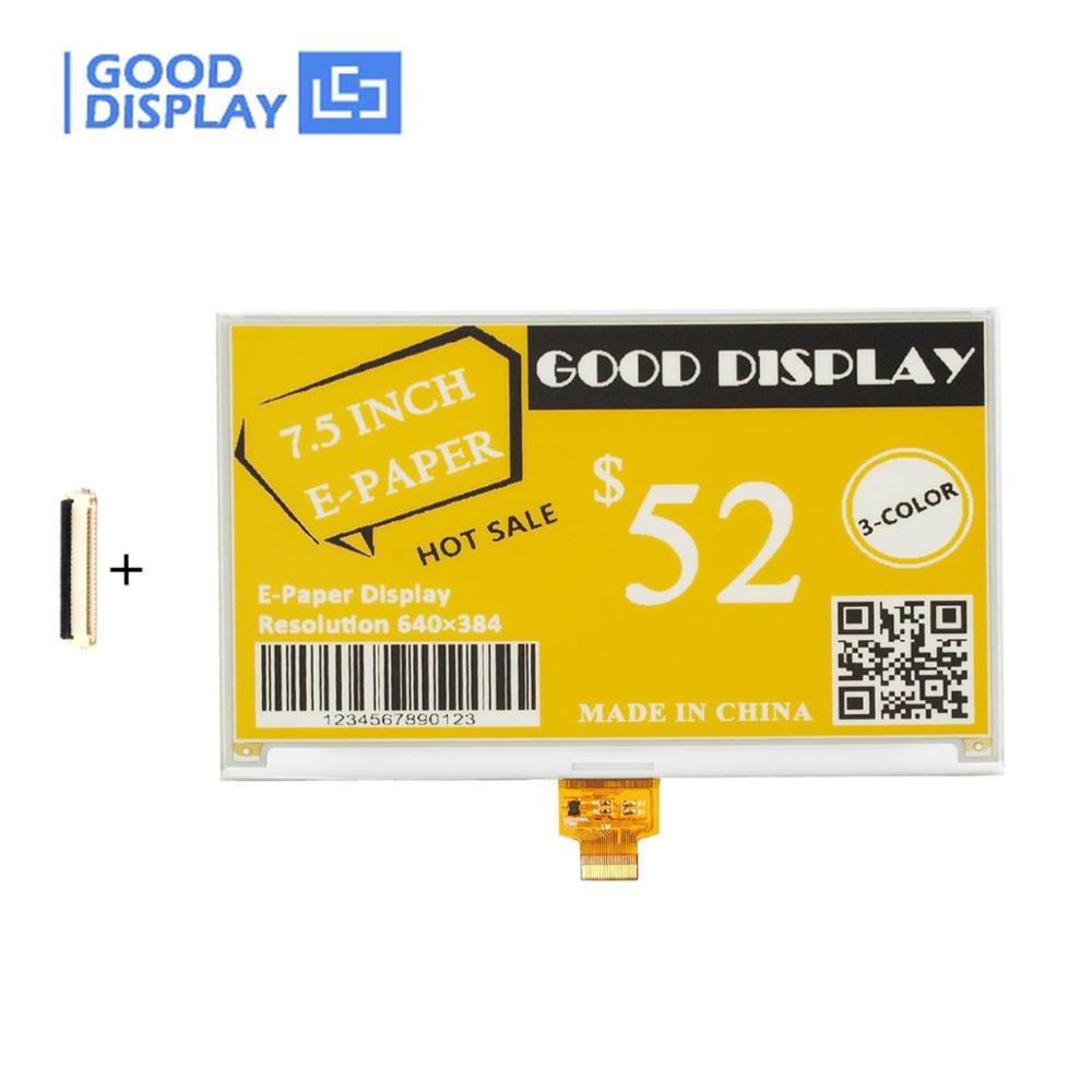 7.5 Inch Three-color E-paper Display Large Eink Display GDEW075C21