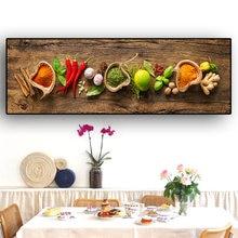 Зерновая ложка для специй перец кухня холст живопись скандинавские