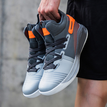 Basketball Shoes men Air Cushion Basketball Sneakers Anti-skid High-top Couple Shoes Breathable Basketball Boots фото