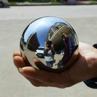1pcs solid 304 Stainless steel balls Dia 70mm steel ball 70 mm high Gloss Glitter for bearing instrument valve Ornament
