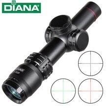 Диана 2-7x20 HD Сфера Mil Dot прицел охотничья область освещения оптический прицел снайперской винтовки охотничий прицел областей