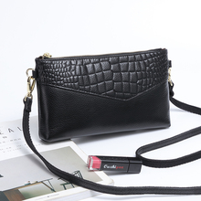 Wmnuo 2020 Bag Women 100% Genuine Leather Clutch Bag For Female Style Small Solid Messenger Shoulder Bag Popular Hand Bags 2017 popular hand carve china vintage genuine leather womens bags