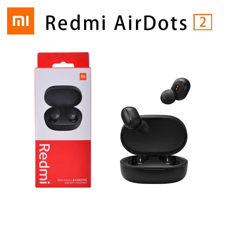 120pcs/lot Original Xiaomi Airdots S Redmi Airdots 2 TWS Earphone Wireless Bluetooth 5.0 Earbuds