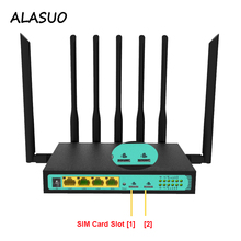 Dual SIM Card Slot 3g 4g lte Wifi Router For Office Industrial Home, 300Mbps Dual PCIE Slot Wireless wi-fi Router Modem VPN yf325 industrial dual sim 4g lte wifi router with sim card slot good for m2m iot