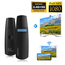 GGMM V מקשר טלוויזיה מקל אלחוטי Dongle WiFi תצוגת מיני HDMI Dongle תמיכה 5G במהירות גבוהה HD 1080P Miracast Chromecast AirPlay