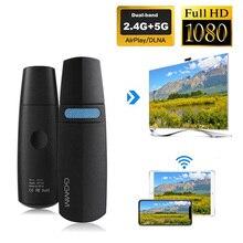 GGMM V Liên Kết TV Stick Không Dây Dongle Wifi Màn Hình Mini HDMI Dongle Hỗ Trợ 5G Tốc Độ Cao HD 1080P Miracast Chromecast Airplay