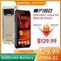 F150 B2021IP68/69K прочный смартфон 6 ГБ + 64 ГБ 8000 мАч Восьмиядерный мобильный телефон NFC 5,86 ''HD + MTK Helio G25 13MP Камера чехол для телефона