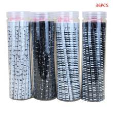 36pcs musical note pencil 2b standard round pencils piano notes