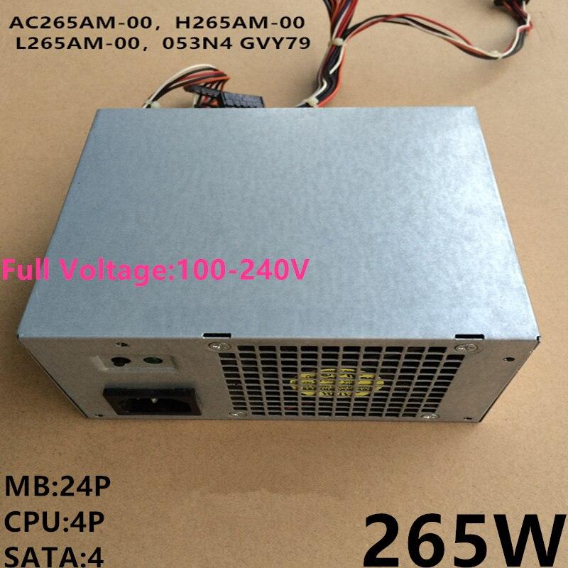 Dell Optiplex 990 790 390 MT Power Supply 265W H265AM-00 L265AM-00 053N4