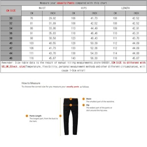 Image 5 - Mens Streetwear Taper Jeans Loose Plus Size Palazzo Pants Harem Straight Pants Trouser Male Denim Baggy Hip Hop Wide Leg Jeans