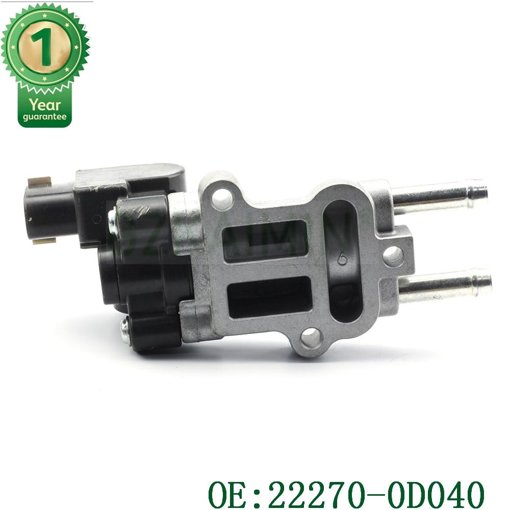 OEM 22270-0D040 22270-22060 22270-22061 AC477 88969043 889  Idle Air Control Valve  For Toyota Corolla Matrix Pontiac Vibe 1.8L