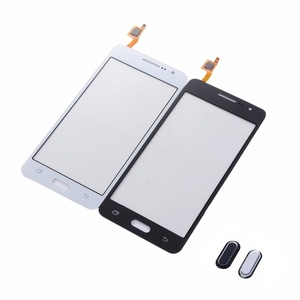 For Samsung Galaxy Core 2 SM-G355H G355 4.5 Inch Touch Screen Digitizer Front Glass Panel+3M Tape+Home Button Return Key