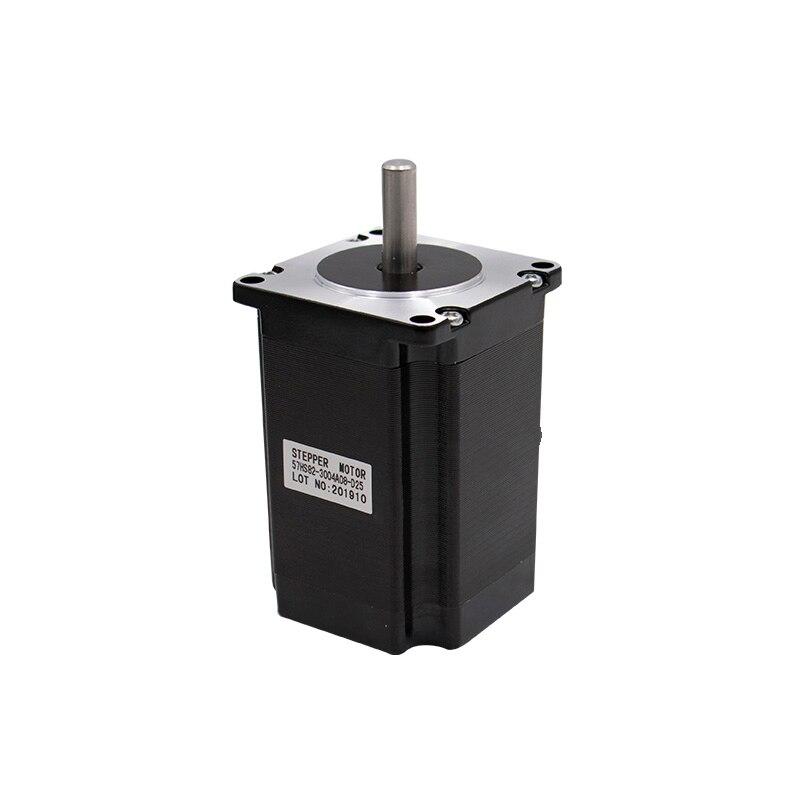 Шаговый двигатель 57x56 D = 8 мм NEMA23 4 провода 3A 1.26N.m шаговый двигатель 180Oz-in NEMA 23 для гравировального фрезерного станка с ЧПУ 3D принтер
