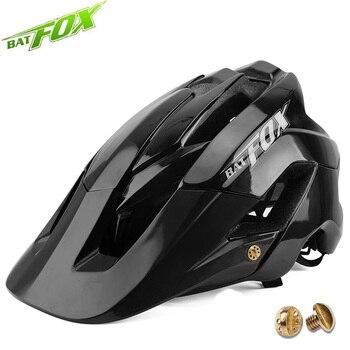 BATFOX-casco de ciclismo para adulto, para ciclismo de montaña, fox vtt