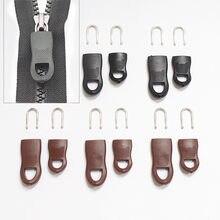 5 Teile/satz Ersatz Zipper Tags Zip Fixer für Kleidung Schwarz Zipper Pull Fixer für Reisetasche Koffer Kleidung Zelt Rucksack