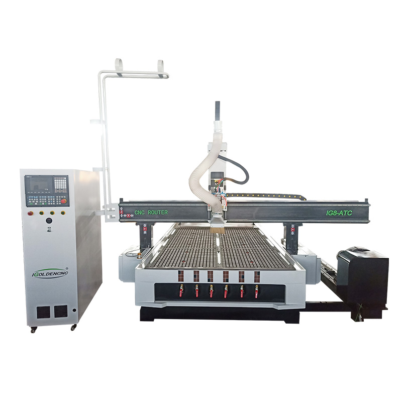 Wood Carving Machine Cnc Router 1325 Atc 4 Axis Cnc Woodworking Machinery With Rotary