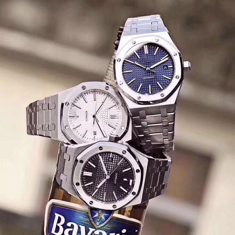 Watch Men AP Royal AAA Oak Audemars Watches Automatic Mechanical Movement Waterproof Wristwatch Stainless Steel Sapphire Crystal