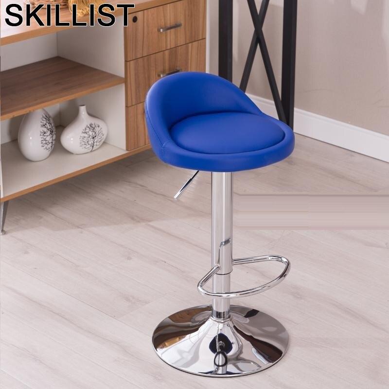 Taburete La Barra Cadir Sandalyeler Stoelen Sedia Banqueta Todos Tipos Tabouret De Comptoir Silla Stool Modern Cadeira Bar Chair