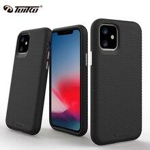 TOIKO X garde 2 couches antichoc étuis pour iPhone 11 Pro Max couverture hybride PC TPU pare chocs iPhone 11 protection robuste armure coque