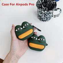 Cartoon bear Case For Airpods Pro Silicone Cute 3D Frog Earpods Protactive Cover