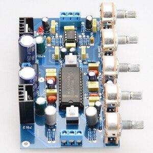 Image 3 - DIY Power Verstärker Ton Bord Spannung Verstärker LM4610 Ton + 5532 Verstärkung Front Bühne Fertig Produkte