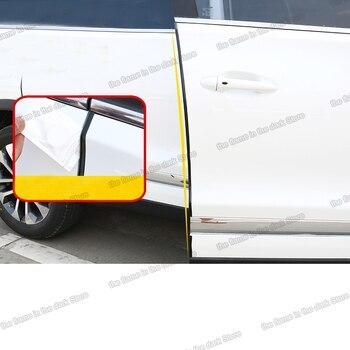 Lsrtw2017 Rubber Car Door Edge Anti-collision Strip Sealed Strip for Chery Tiggo 8 2018 2019 2020 lsrtw2017 carbon fiber leather car co pilot storage box anti kick mat for chery tiggo 8 2018 2019 2020
