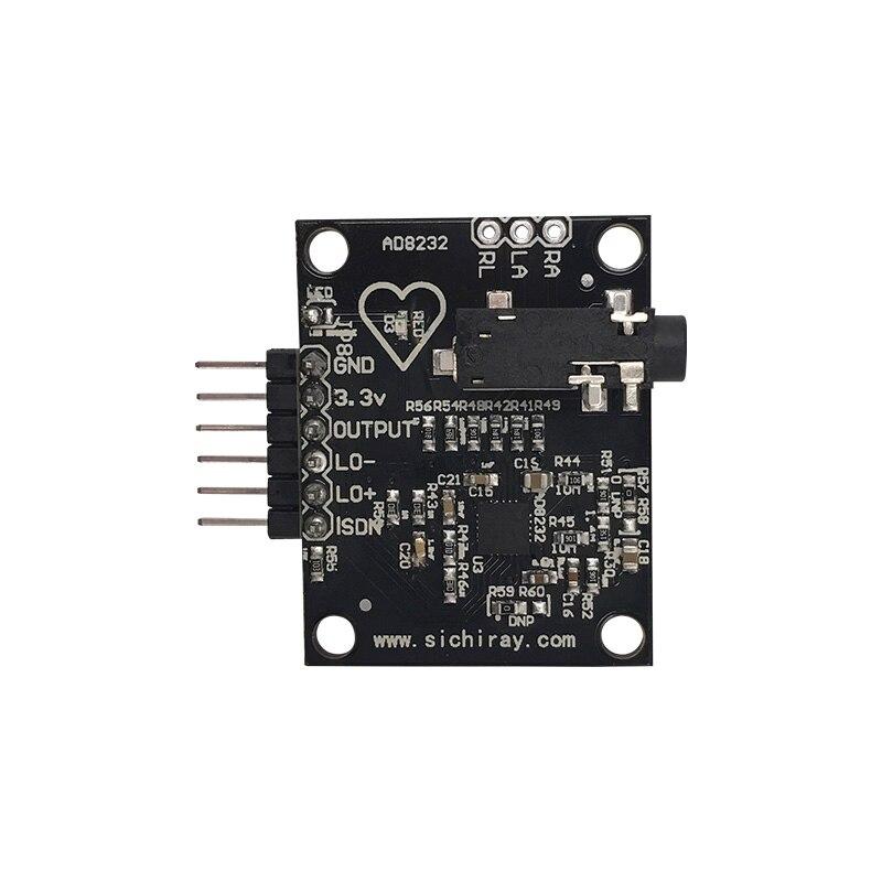 AD8232 Analog ECG Measurement Sensor Module ECG Monitoring Microcontroller|Building Automation| |  - title=