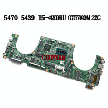MODEL JW8C FOR Dell Vostro 5470 5439 Laptop Motherboard DAJW8CMB8E1 I5-4200U GT740M 2G CN-02TK7V 2TK7V Mainboard 100%Tested