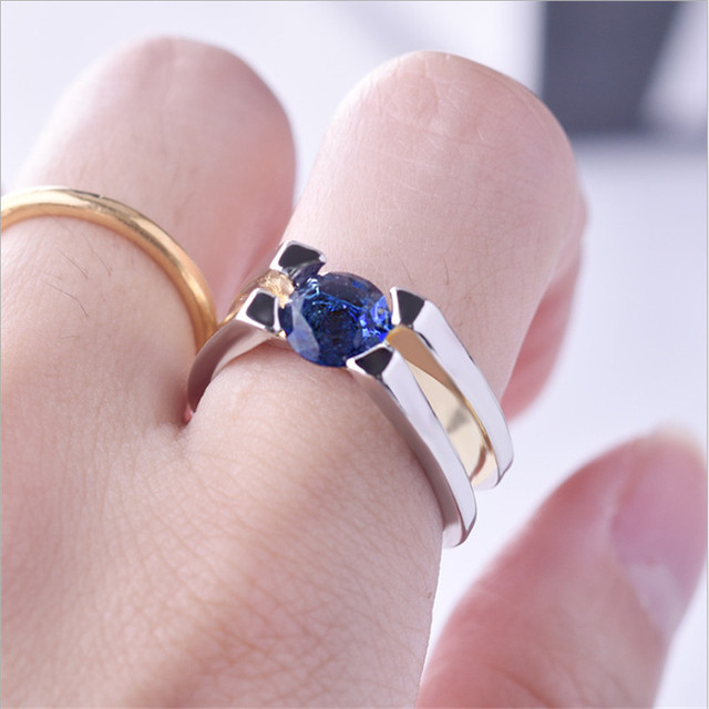 Two Tone 925 Silver Ring 3