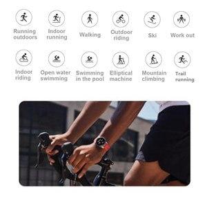 Image 4 - Küresel Sürüm Amazfit GTR 47mm 42mm akıllı saat Xiaomi Huami Smartwatch 12Spor Modları 5ATM Su Geçirmez GPS 24 Gün pil AMOLE