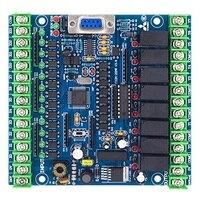 Plc 산업용 제어 보드 FX2N-20MR 프로그래머블 로직 컨트롤러 12 입력 8 출력 24 v 5a
