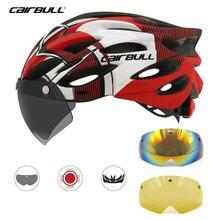 Cairbull 3 объектив шлем для велоспорта дорожного велосипеда