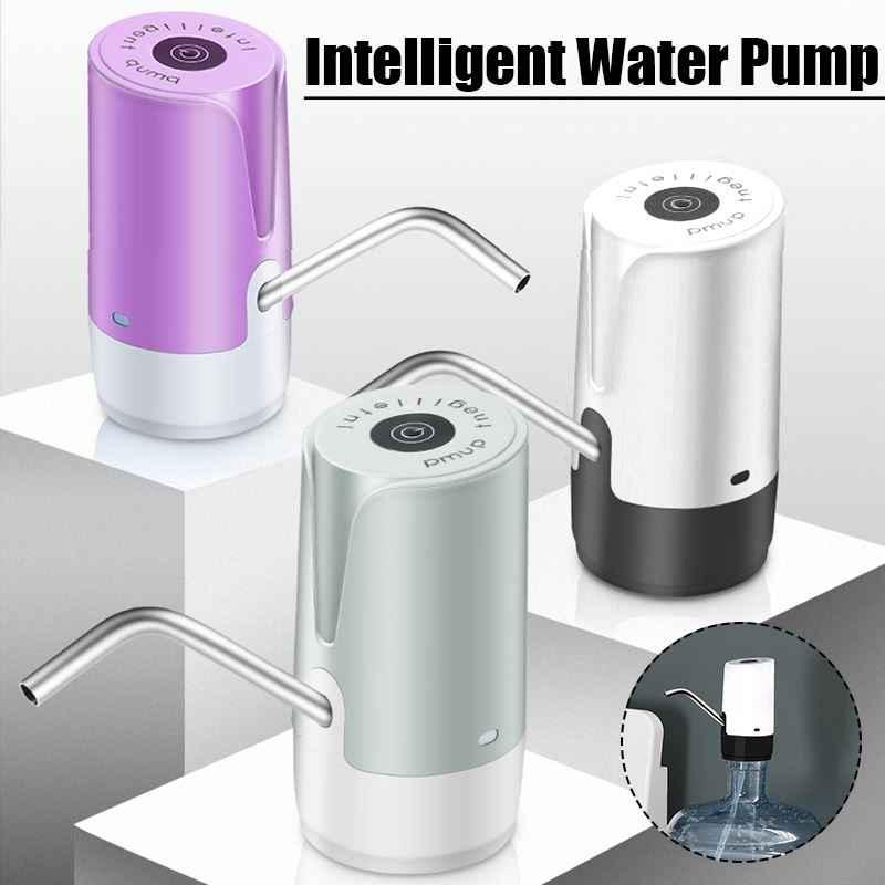 الكهربائية شحن موزع مياه USB شحن المياه زجاجة مضخة المياه ضخ جهاز الصلب الأنابيب الغذاء الصف سيليكون الدكتور