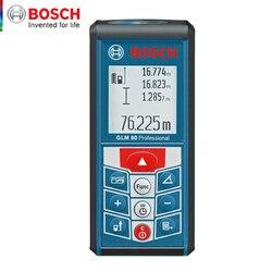 Bosch GLM80 Range Finder Infrared Handheld Laser Range Finder Rechargeable 80 m Angle Measuring Instrument