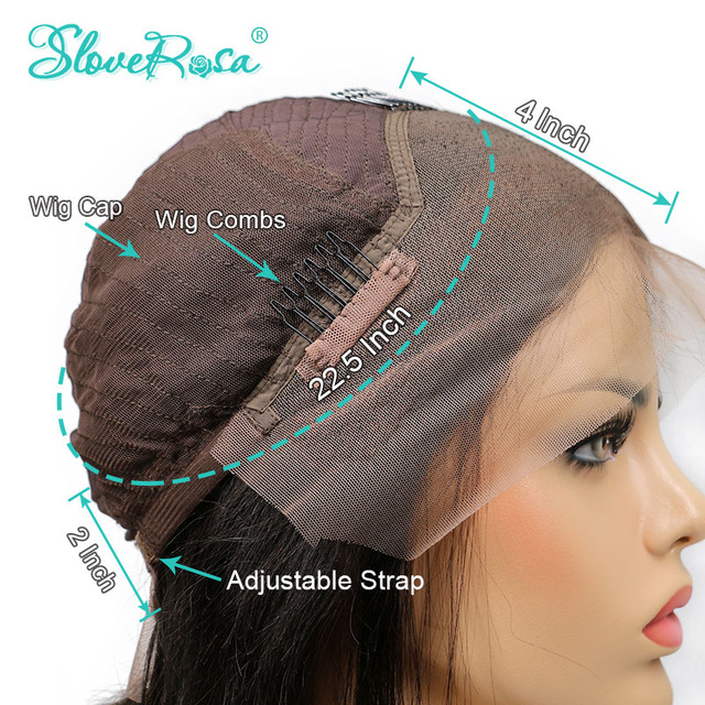 130% gęstość woda fala 13x4 koronki przodu włosów ludzkich peruk brazylijski Remy włosy z dzieckiem włosy niski stosunek bielone węzłów Slove Rosa