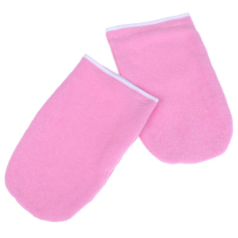 1 Pair Wax Warmer Gloves Protection Heater SPA Cotton Mittens For Warmer Wax Heater Paraffin Hand Gloves