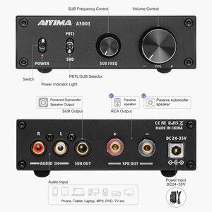 Image 2 - AIYIMA Amplificador de Subwoofer TPA3255, 300W, amplificador de potencia Digital HIFI Mono, Clase D, sonido para el hogar, Versterker NE5532 OP AMP